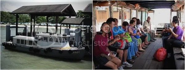 Bumboat from Changi Point