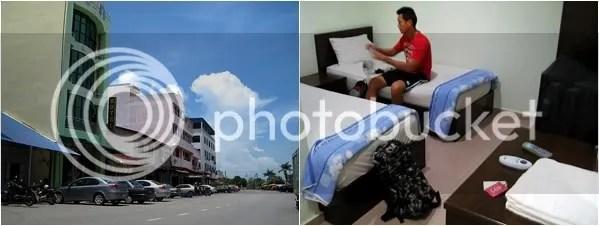 Hiap Hwa Exterior & Room