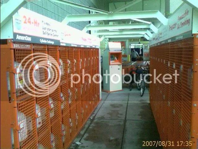 Propane Vending Machine