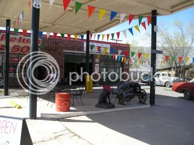 Gas station turned gift shop, Seligman, AZ