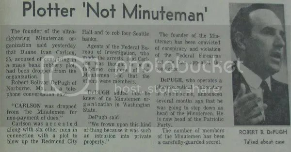 Seattle Post-Intelligencer, January 27th 1968