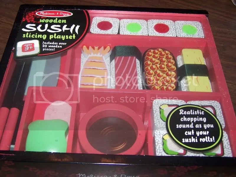Yes, it's a sushi playset...
