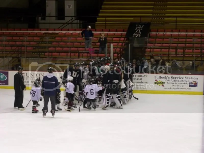 High fives from the ENTIRE Union Dutchmen team!