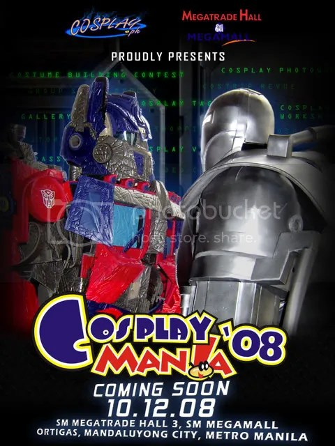 Cosplay Mania 2008 Teaser Poster