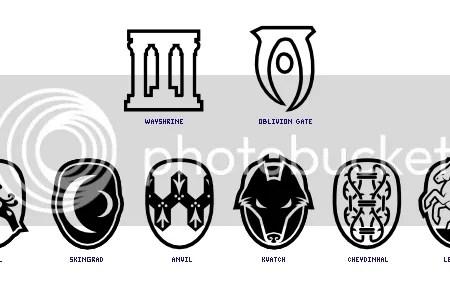 Skyrim Compass Icons