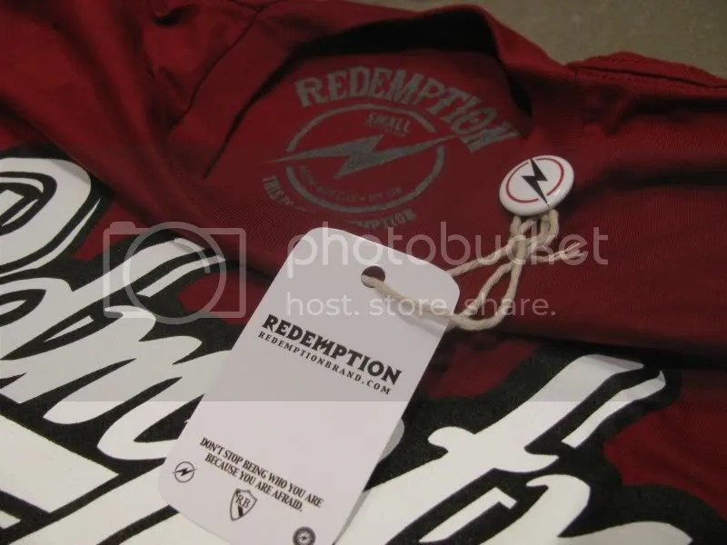 Redemption Tag