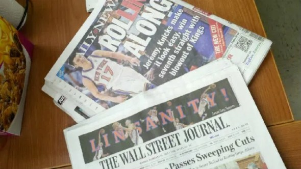Jeremy Lin Makes Headlines