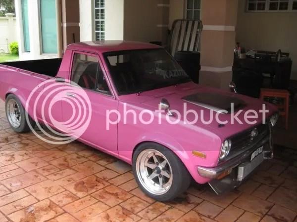Datsun Pink Pickup