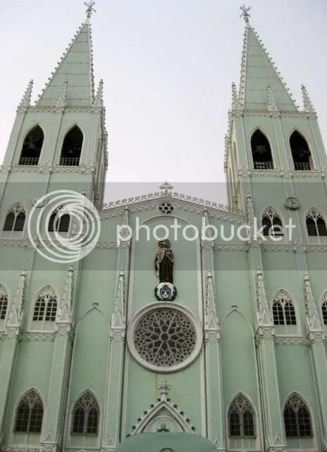 manila,san sebastian,church