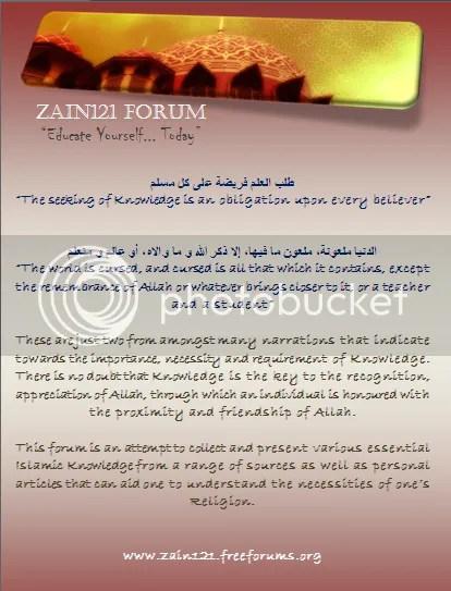 Zain121 - Forum