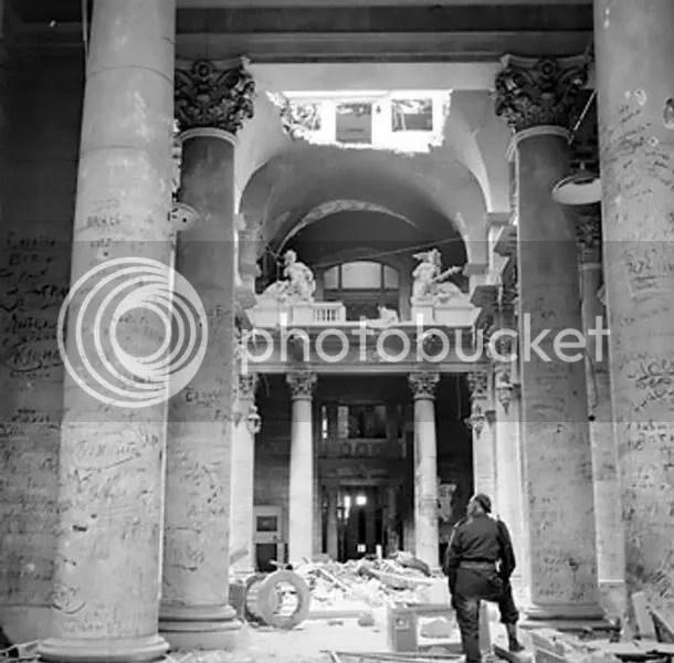 Reichstag destruido