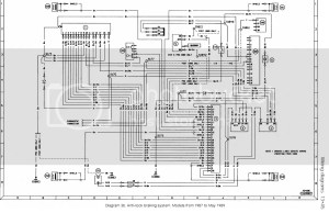 Ford sierra abs wiring diagram
