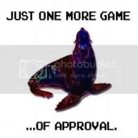 The JustOneMoreGame 'seal of approval'