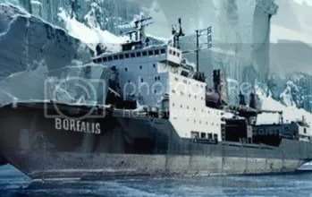 The Borealis - concept art from the Half Life game series