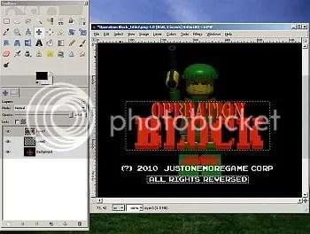 GIMP - a powerful, yet free Graphics editing program