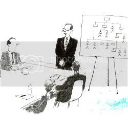 Interview cartoon