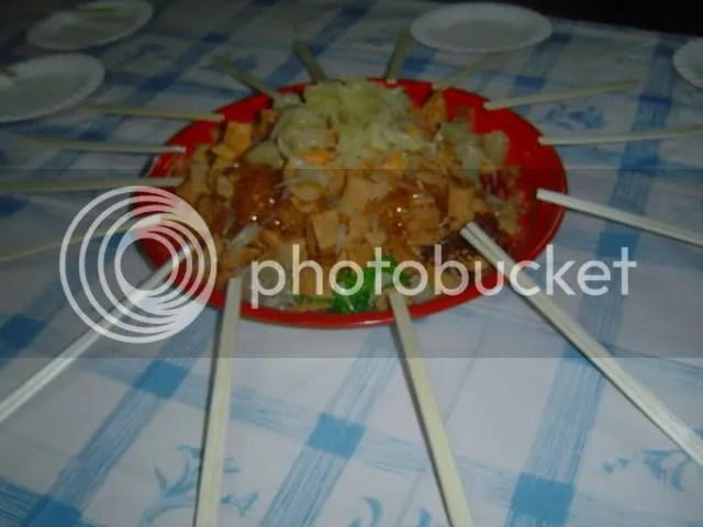 2nd Plate Of Yu Sheng!