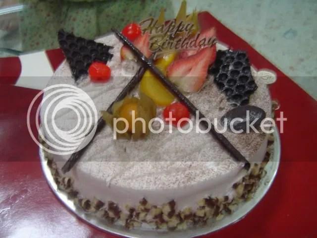 S$27.80 Black Forest Cake.