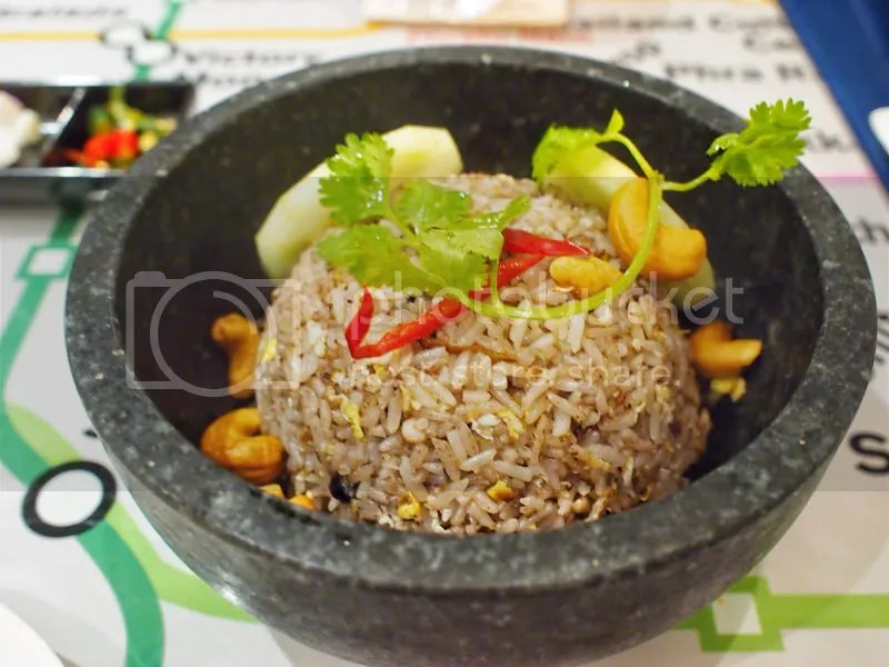 Bangkok Jam Thai Olive Fried Rice