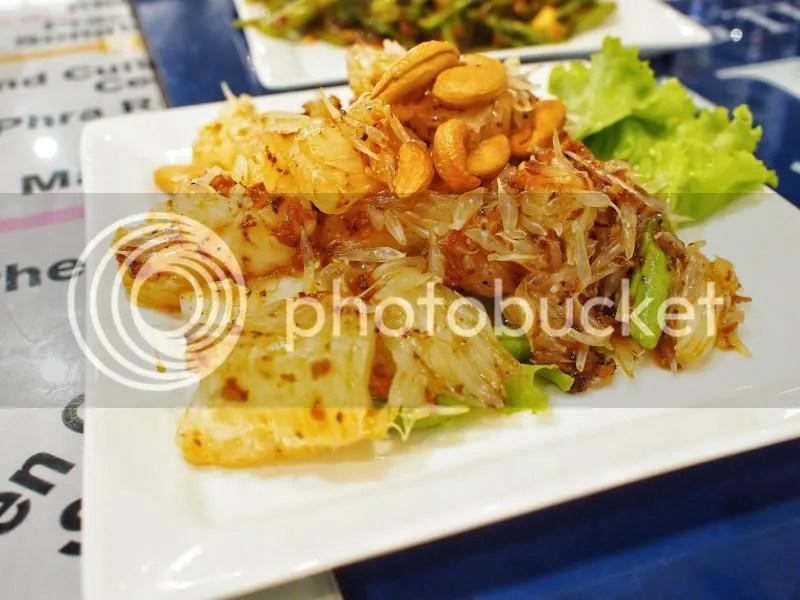 Bangkok Jam Shrimps with Pomelo and Cashew