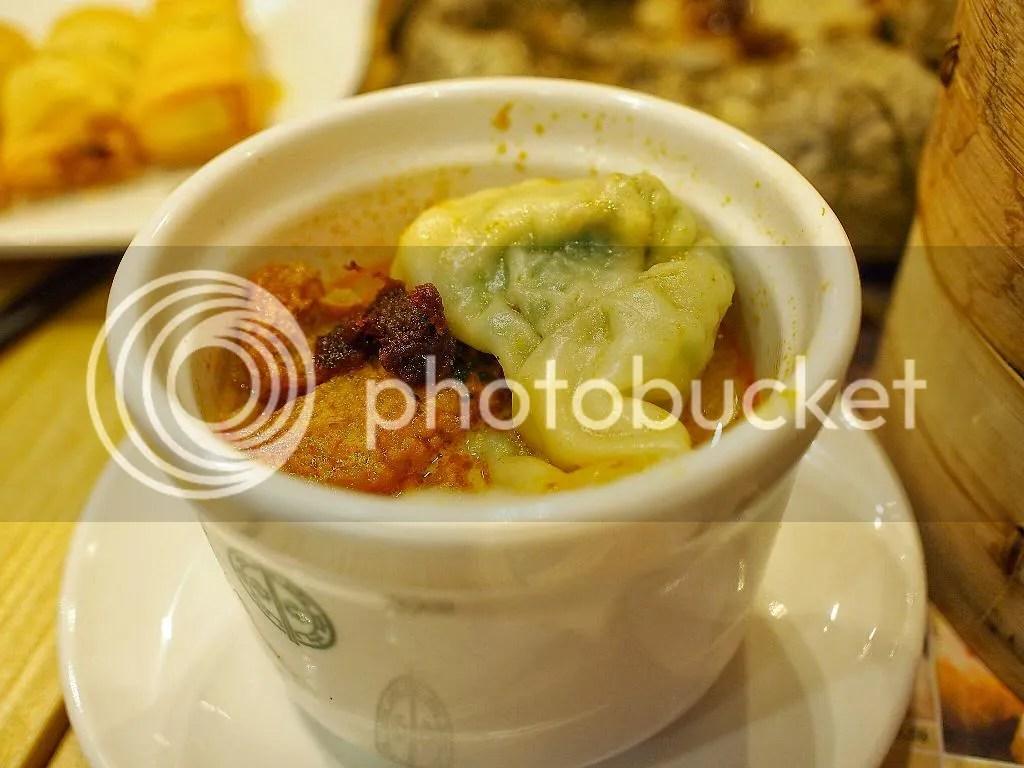 Tim Ho Wan Jade Wonton in Laksa Soup