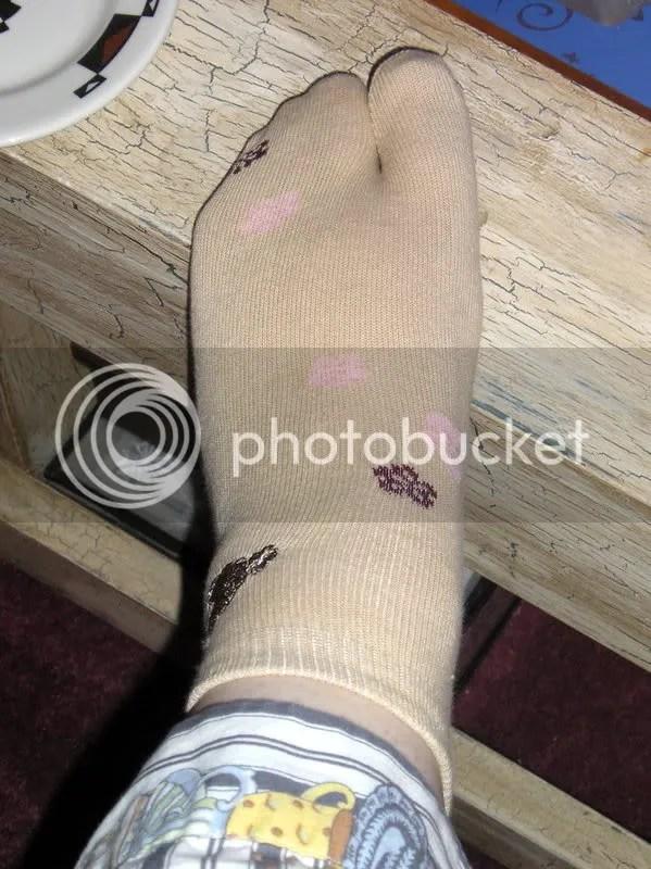 tabi socks!