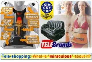 What is tele-shopping all about?