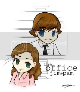 daphnemoon Jim and Pam