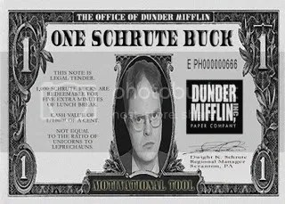 another Schrute buck