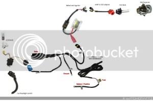 MK4 HID Projector setup wiring diagram  TDIClub Forums