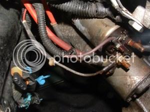 Starter and ground wiring question ?  CorvetteForum