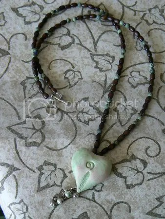 Heart Seed Necklace