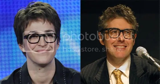 Rachel Maddow and Ira Glass.
