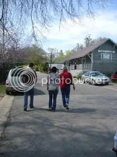 Trio Walking