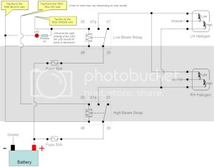 AE101 Headlight Wiring  Toyota Nation Forum : Toyota Car and Truck Forums