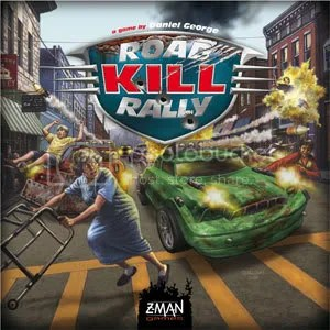 Roadkill Rally Board Game Cover