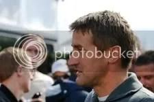 Bernd Scneider, op weg naar de pitbox, vrijdagmiddag