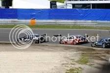 Rinaldo Capello voor Bernd Scneider en Gary Paffett, Audi S, race