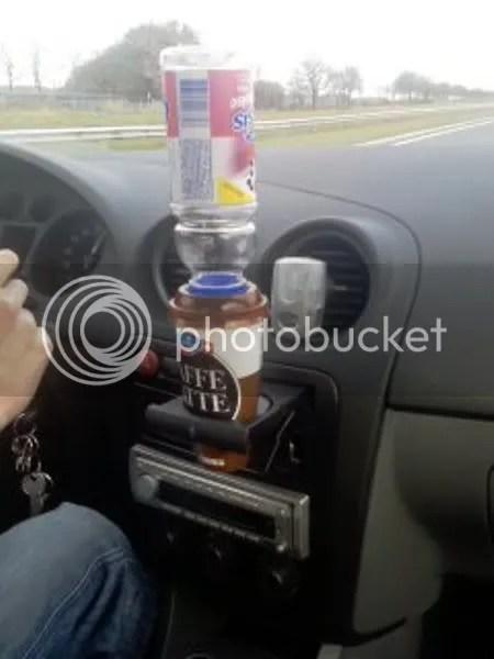 Hoe lang zal het duren voor het flesje valt? ;o))