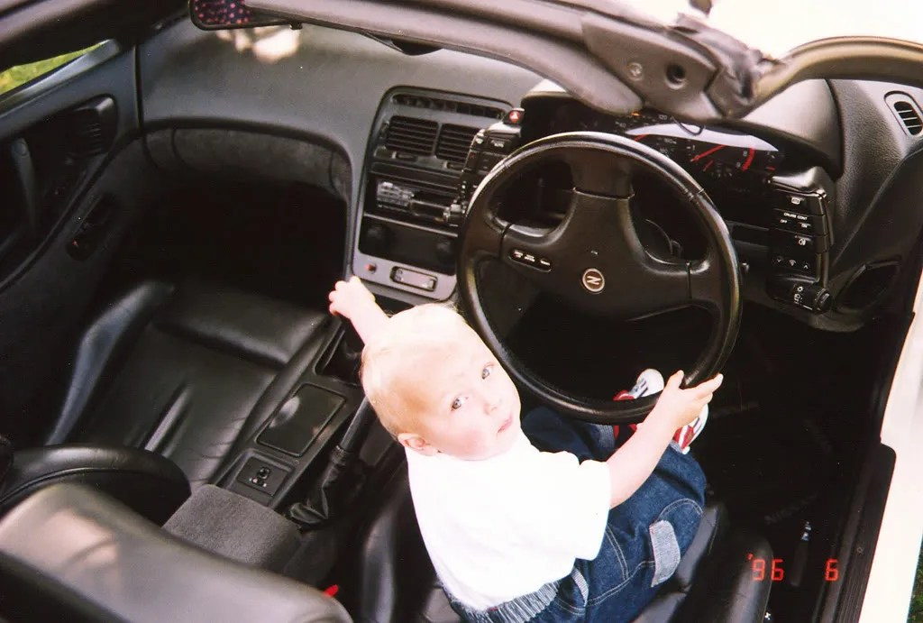 Aged 2 - Where are the keys Dad?