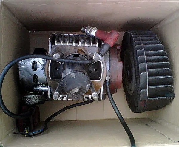 Box of bits formerly known as an engine