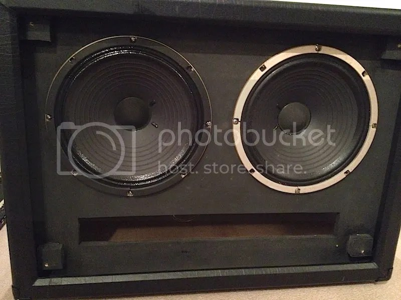 NCD: Freda 2X10 Live Front Ported Cabinet w/ Celestion G10