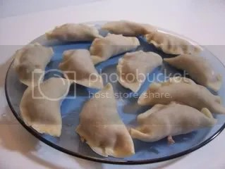 Making the potstickers is easy, though it takes a little time, but time well worth it, I think.