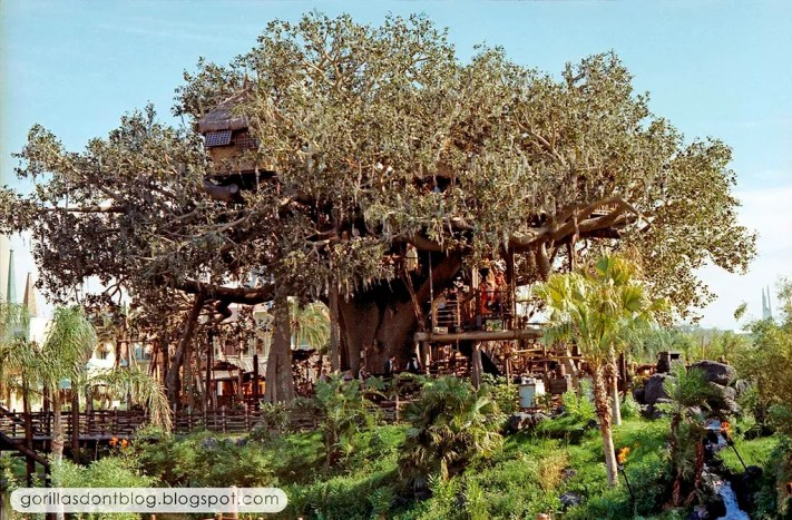 Swiss Family Treehouse Walt Disney World Opening Day