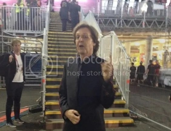 Paul McCartney na abertura das Olimpíadas