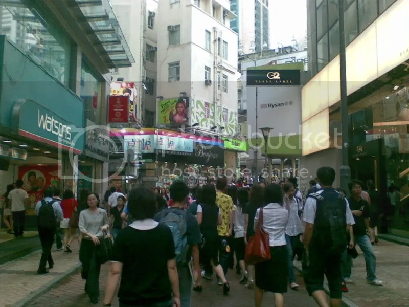Busy Streets of HK