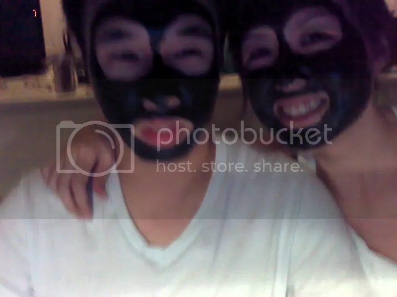 Blackie faces