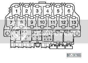 VWVortex  03 Jetta relay diagram or under dash