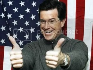 Kid tested, Stephen Colbert approved.