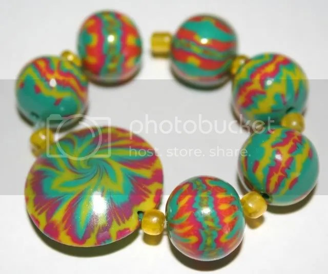 tie dye beads